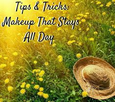 Happy April! I have been ready for Spring since Christmas ended and the UnitWise Heroes couldn't be happier that Spring is finally here. The only downside to warmer weather is that it can cause your makeup to fade very quickly. Here are some great tips and tricks to keep your makeup looking flawless while the sun heats things up.