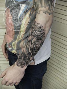 Logan Bramlett Tattoos — Wanderlust Tattoo Society, Cuyahoga Falls