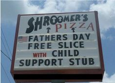 Child support! Love this! Lol!