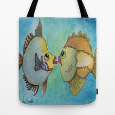 MR. & MRS. SMITH Tote Bag by Caribbean Critters Co. - $22.00