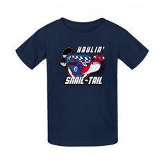 Haulin' Snail Tail - Youth Tee  $18.99