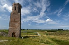 de Plompe Toren op Schouwen-Duiveland