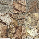 Found it at Wayfair - Cafe Forest 4'' x 4'' Marble Field Tile in Brown