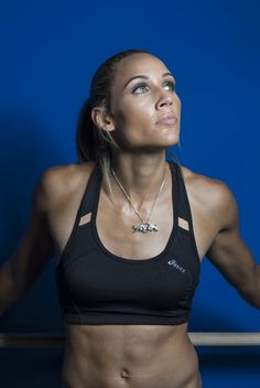 Lolo Jones. Without a doubt one of the fastest women in the world.