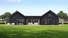 RLC Construction house plans will give you a great starting point for your new home design. Get excited about the possibilities of building with RLC Construction! Barn House Kits, Modern Barn House, Barn House Plans, Modern House Plans, Barn Houses, Barn Kits, House Cladding, Facade House, Metal Building Homes