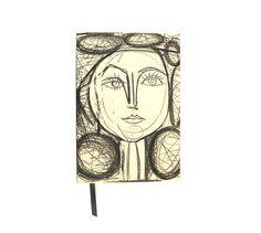 Para tomar notas o dibujar, en #LibreríaMPM tienes este cuaderno con el retrato de Françoise Gilot de #JuegoDeOjos
