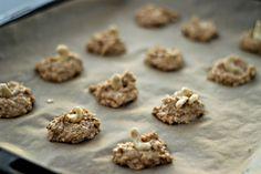 Nyttiga kakor - Foodjunkie - Metro Mode Healthy Sweets, Healthy Snacks, Fika, Biscuits, Make It Yourself, Cookies, Baking, Desserts, Recipes