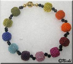 Mini-Cube I Immer Wieder Perlen Mini, Cube, Beaded Bracelets, Beads, Jewelry, Armband, Jewlery, Ideas, Beading