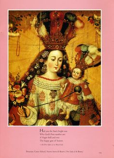 Our Lady of the Rosary...Peruvian