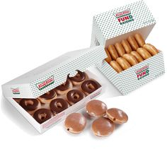 Krispy Kreme Fundraising - How It Works: 4 ways to raise funds with a 50% profit margin. Presell doughnuts & coffee, sell fresh doughnuts, sell gift certificates, or sell BOGO discount cards. #fundraiserideas