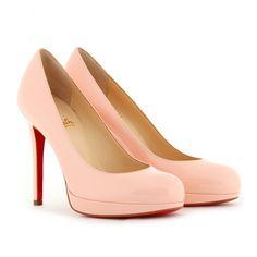Christian Louboutin pink patent