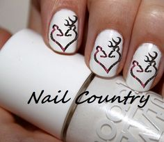 50pc Me And My Boyfriend Hubby Love Pink Camo Country Deer Nail Decals Nail Art Nail Stickers Best Price  NC16