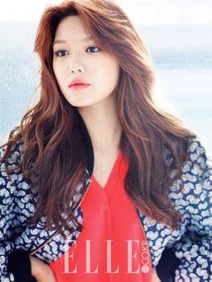 SNSD's Sooyoung // Elle Korea // September 2013