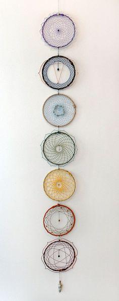 Chaque chakra est décoré de pierres qui correspond à sont point énergétique. 7e; Améthyste 6e; Lapis-lazuli 5e; Amazonite 4e; Quartz rose 3e: Topaz