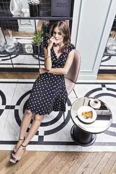 What would Parisian style be without some polka dots? #stockalovesparis