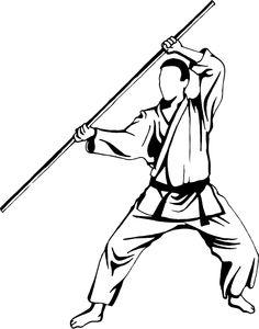 Staff weapon terminology (bo, jo, hanbo, tanbo