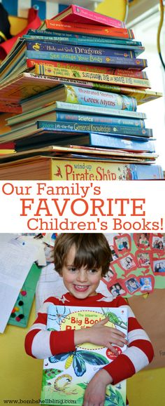 Our Family's FAVORITE Children's Books - as told by a mom who is a teacher!