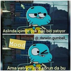 Mood bunu tek anlyn sensin Funny Times, Funny Laugh, Funny Share, Best Memes Ever, Funny Sherlock, Good Sentences, World Of Gumball, Cute Stories, Elf