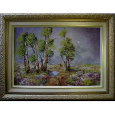 MOON GUMTREES in the Paintings category was listed for on 12 Oct at by Louis Pretorius in Cape Town Landscapes, Moon, Stuff To Buy, Painting, Art, Paisajes, The Moon, Art Background, Scenery