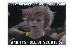 Skateboard Memes, Skateboard Girl, Text Memes, Skate Style, Skater Girls, Skate Park, Wakeboarding, Stupid Funny Memes, Skateboards