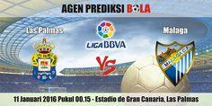 Prediksi Bola Las Palmas vs Malaga 11 Januari 2016