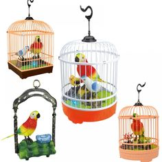 Children Electronic Interactive Talking Toys Pets Simulation Bird Cage Birdcage Kids Christmas New Year Gift Garden Ornaments Christmas And New Year, Kids Christmas, Talking Toys, Interactive Toys, Electronic Toys, Bird Cages, Garden Ornaments, New Year Gifts, Toy Sale