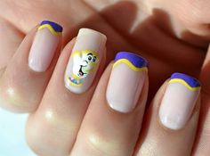 Chip (Nails by Unknown) #BeautyAndTheBeast