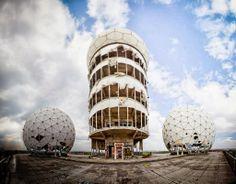 Teufelsberg: Abandoned Cold War Listening Station Built on an Artificial Hill, Berlin