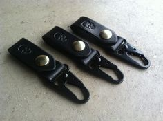Image of The Pirate Handmade Leather Key Chain