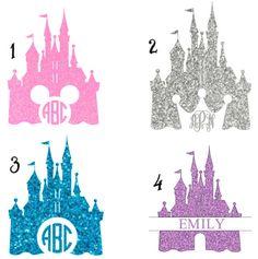 Disney Inspired Cinderella Castle Custom Iron On for by LalusVinyl