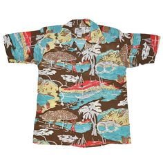 e7035531f More Vintage Tiki Goodness In A Modern Shirt Moana Hawaiian, Hawaiian Wear,  Vintage Tiki