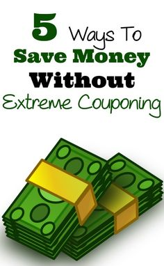 5 Ways To Save Money Without Extreme Couponing - neat ideas for using coupons in a simple way.