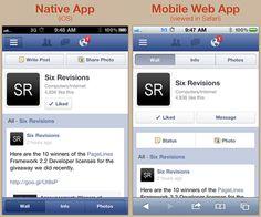 Native App vs. Mobile Web App: A Quick Comparison