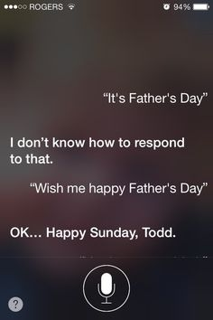 When you realised she doesn't think of you as a parent. | 29 Times Siri Was Actually A Bit Of A Dick