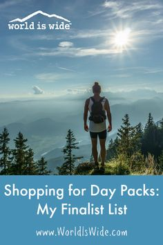 Join me on my quest to select the perfect day pack for my needs.   #travel #travelplanning #daypack #backpack
