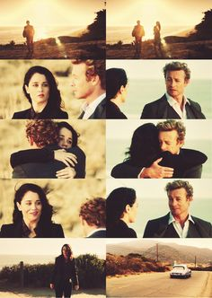 "Jane & Lisbon -""Fire and Brimstone"", The Mentalist"