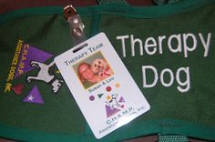 Leo's Therapy Dog vest and ID. Dog Vest, Therapy Dogs, Leo, Entertaining, Personalized Items, Children, Young Children, Boys, Kids