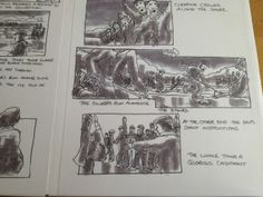 From Pigironworld  Storyboards for My Life So Far directed by Hugh Hudson (Chariots of Fire) staring Colin Firth. Storyboards by Billy O'Brien