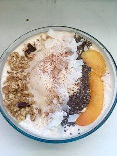 Peaches & Cream Protein Bowl