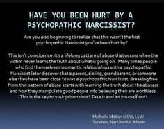 Psychopatic Narcissist