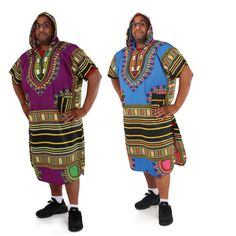 Extra-Long Traditional Hoodie Dashiki (C-U926)     sold by Lester's African Bargains. Shop more products from Lester's African Bargains on Storenvy, the home of independent small businesses all over the world.