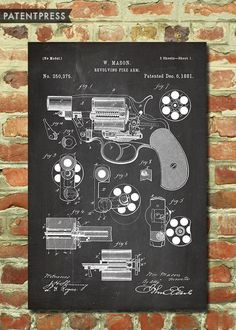 Seriously cool posters from PatentPrints Man cave Man Cave Diy, Man Cave Home Bar, Decoration, Art Decor, Decor Ideas, Bar Ideas, Room Ideas, Gift Ideas, Gun Rooms