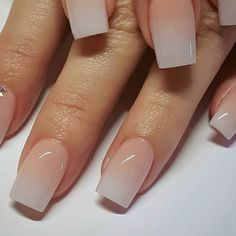 72 Best Trendy and Stunning Ombre Nails Design for Summer 2019 - Page 8 ♥ 𝙄𝙛 𝙔𝙤𝙪 𝙇𝙞𝙠𝙚, 𝙅𝙪𝙨𝙩 𝙁𝙤𝙡𝙡𝙤𝙬 𝙐𝙨 ♥ ღ Hope you like this Eye-catching square nails designs collection! ღ 𝕭𝖊𝖘𝖙 𝖘𝖙𝖚𝖓𝖓𝖎𝖓𝖌 𝖔𝖒𝖇𝖗𝖊 Square Nail Designs, French Nail Designs, Ombre Nail Designs, Neutral Nails, Nude Nails, White Nails, Hair And Nails, My Nails, No Chip Nails