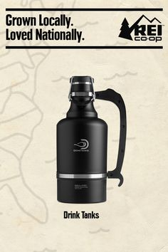 We heart local. Every season, our team hits the metaphorical trail to find brands that create amazing things right in their own backyards. Our picks for fall's most innovative, locally dreamed-up gear includes the DrinkTanks Vacuum Insulated Growler.