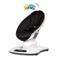 The mamaRoo Classic Infant Seat from bounces and sways just like you do when you're comforting your baby. It's soft and plush and provides plenty of entertainment with built-in music and toys and and Bluetooth compatibility. Fisher Price, Nylons, Siege Bebe, Baby Rocker, Baby Swings, Baby List, Baby Must Haves, Seat Pads, Baby Gear