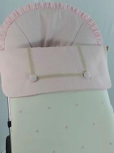 Detalle saco polipiel babero rosa