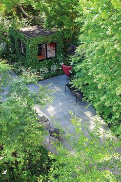 Scott Lewis San Francisco bluestone patio ; Gardenista