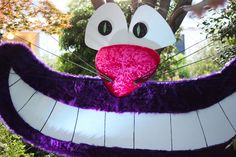 A Handmade Cheshire Cat - by Rania Peet for Alice in Wonderland