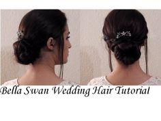 ♕ Bella Swan Wedding Hair inspired Tutorial ♕