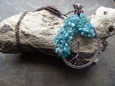 Turquoise Treasures by Eleanor Hawkins on Etsy - featuring my Tree of Life Pendant.